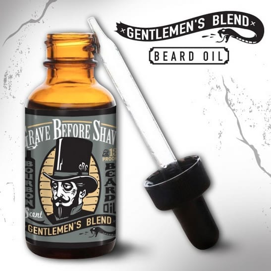 Huile à barbe Grave Before Shave Gentlemen's Blend